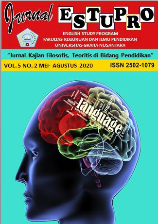JURNAL ESTUPRO VOL. 5 NO. 2 MEI-AGUSTUS 2020